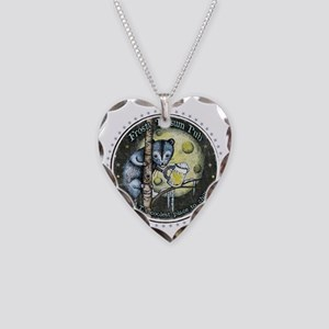 The Frosty 'Possum Pub Necklace Heart Charm